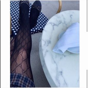 Gucci interlocking G tights medium in black